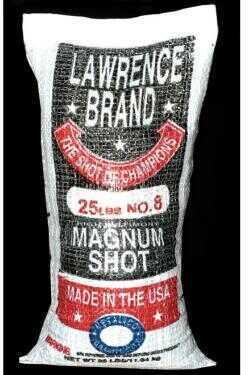Lawrence Magnum Lead Shot #8 25Lb Bag