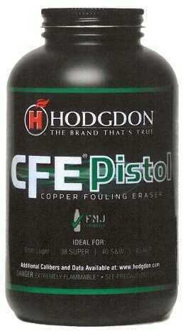 Hodgdon CFE Pistol Powder 8Lb