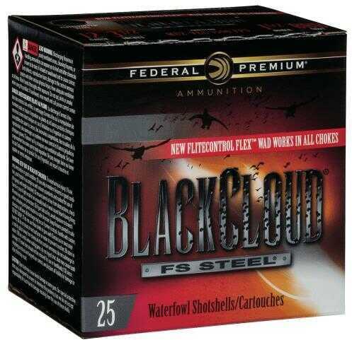 Federal Black Cloud 12 Gauge 3'' 1-1/8Oz #2 '' High Velocity'' 25/Bx