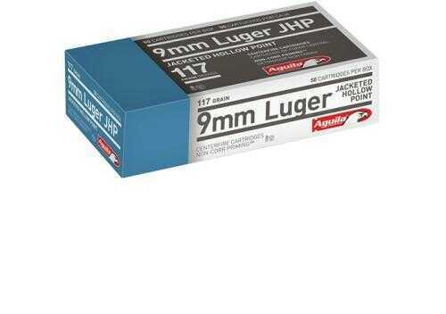Aguila 9mm Jhp 117 Grains 50bx