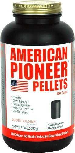 American Pioneer 50 Caliber Pellets 100 Per Container Md: APP5050P