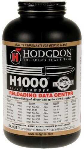 Hodgdon Powder H1000 Smokeless 1 Lb.