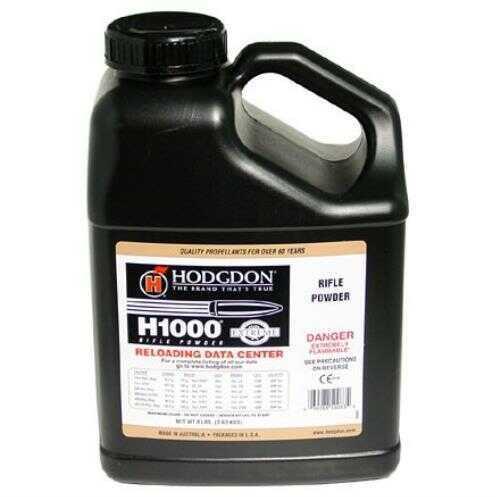 Hodgdon Powder H1000 Smokeless 8 Lb