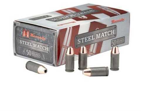 Hornady 9mm Luger 125 Grain Hornady Action Pistol Steel Match Ammo, 50 Rounds Per Box Md: 90275