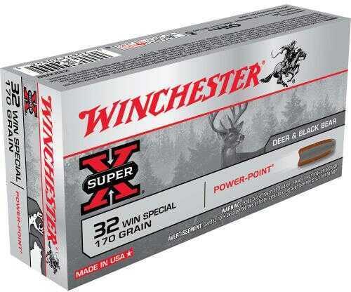 Winchester SUPR-X 32 Win SPL 170Gr Pp 20/Bx