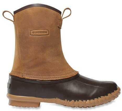 "Lacrosse Mesquite Ii 10"" Side Zip Boot Brown Size-13"