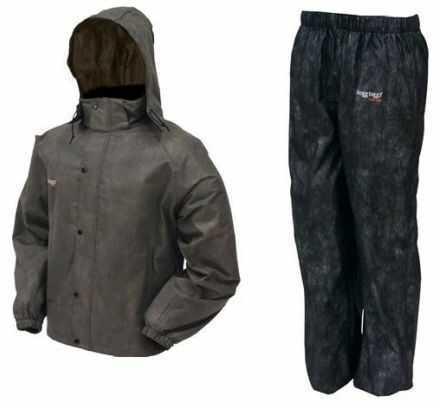 Frogg Toggs All Sport Rain Suit Stone/black