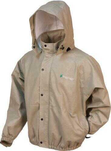 Frogg Toggs Classic Pro Action™ Rain Jacket With Pockets, Khaki, Small Md: PA63122-04-S