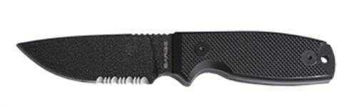 "Sarge Panther FXD BLD Blk G10 3.5"""