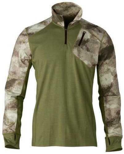Browning MHS 1/4 Zip Pullover A-TACS AU Medium Model: 3010800802