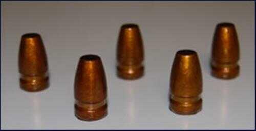 Missouri Cast Bullets 9mm SubSonic Parabellum Hi-Tek, 147 Grain Flat Point .356 Diameter, 500 Per Box Md: HT-356147M