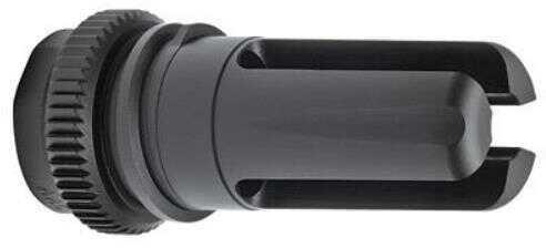 Advanced Armament 64725 Blackout 51T Flash Hider Blackout 51T 7.62mm Black Nitride Alloy