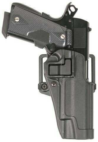 Blackhawk 410562BKR Serpa CQC Concealment Black Matte Polymer OWB CZ CZ75B Right Hand