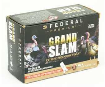 FeDeral Grandslam 12 Gauge 3'' 4De 1 3/4'' Oz 4 10/Bx