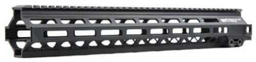 "Geissele Automatics MK8 Super Modular Rail 15"" MLOK includes Stainless Steel Gas Block Black 05-286B"