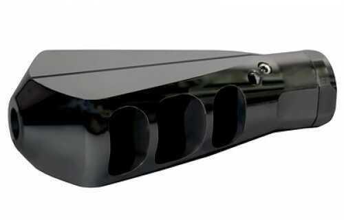 Lancer Brake Tunable Brake/Compensator Blacknitrided Steel 5/8 x 24 TPI 308 Win LVB-308-BK