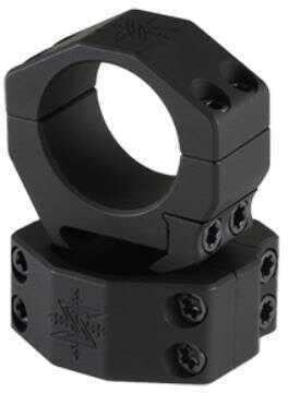 """Seekins Precision Scope Ring .97"""" High 30mm 4 Cap Screw Black Finish 0010620012"""