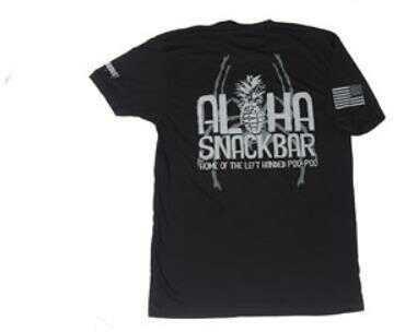 Spike's Tactical Aloha Snackbar Spike's Tactical Tee Shirt XL Black SGT1072-XL
