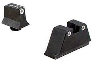 Trijicon Bright & Tough Night Sights Suppressor Height Set GLOCK Pistols Green Tritium Front/Yellow Tritium Rear
