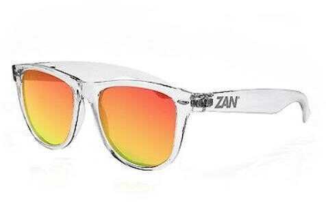 Zanheadgear Mint Sunglass-Crystal Clear Smoked CrimsonMirror