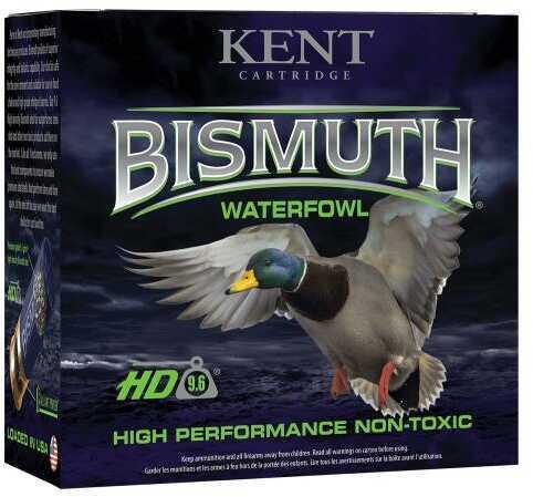 "Kent Cartridge B203W284 Bismuth High Performance Waterfowl 20 Gauge 3"" 1 oz 4 Shot 25 Bx"