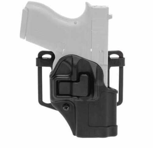 Blackhawk 410561BKR Serpa CQC Concealment Black Matte Polymer OWB Sig 250/320 Right Hand