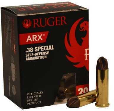 Polycase Ammunition 38 Special, 77 Grains, ARX, Per 20 Md: 0038SPRARX077-001B00020P