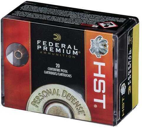 Federal Premium 9mm 147 Grains Hst JHP 20/Bx