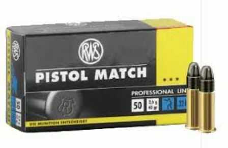 Walther Ammo 22LR Pistol Match