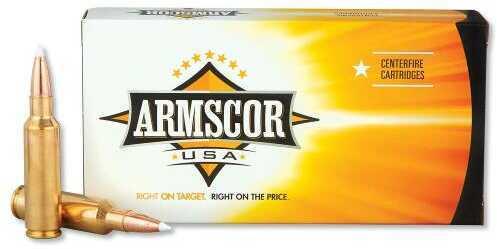 Armscor 300 Winchester Short Magnum (WSM) 165 Grain AccuBond Ammunition, 20 Rounds Per Box Md: FAC300WSM165