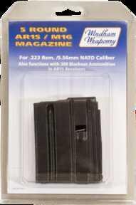 Windham Weaponry Magazine .223/5.56mm, 5 Rounds, Black