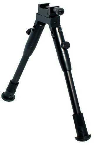 "UTG Tl-BP69S High-Pro Shooters Bipod Black Aluminum 8.7-10.6"""
