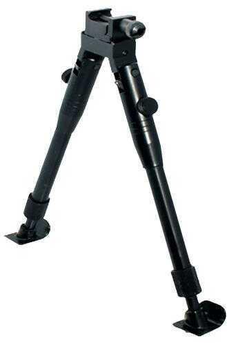 UTG Tl-BP69St Shooter''s Sniper Bipod Black Aluminum 8.2-10.3