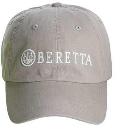 Beretta Cotton Twill Hat Char Gry with logo