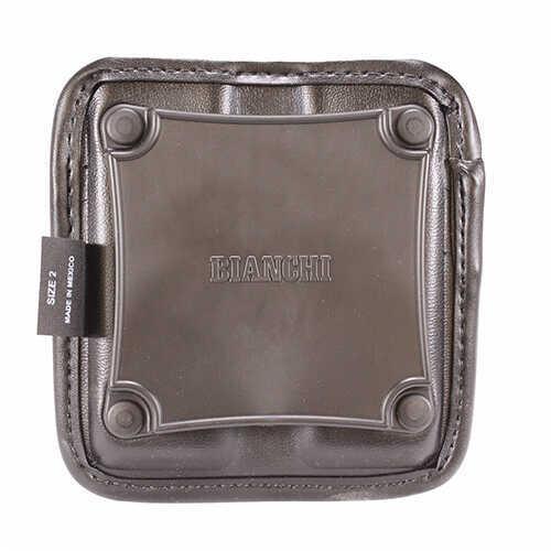 Bianchi 7922 AccuMold Elite Triple Threat II Magazine Pouch Plain Black, Size 2 Md: 22693