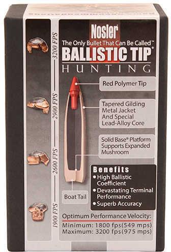 Nosler 7mm 150 Grains Spitzer Ballistic Tip Per 50 Md: 28150 Bullets