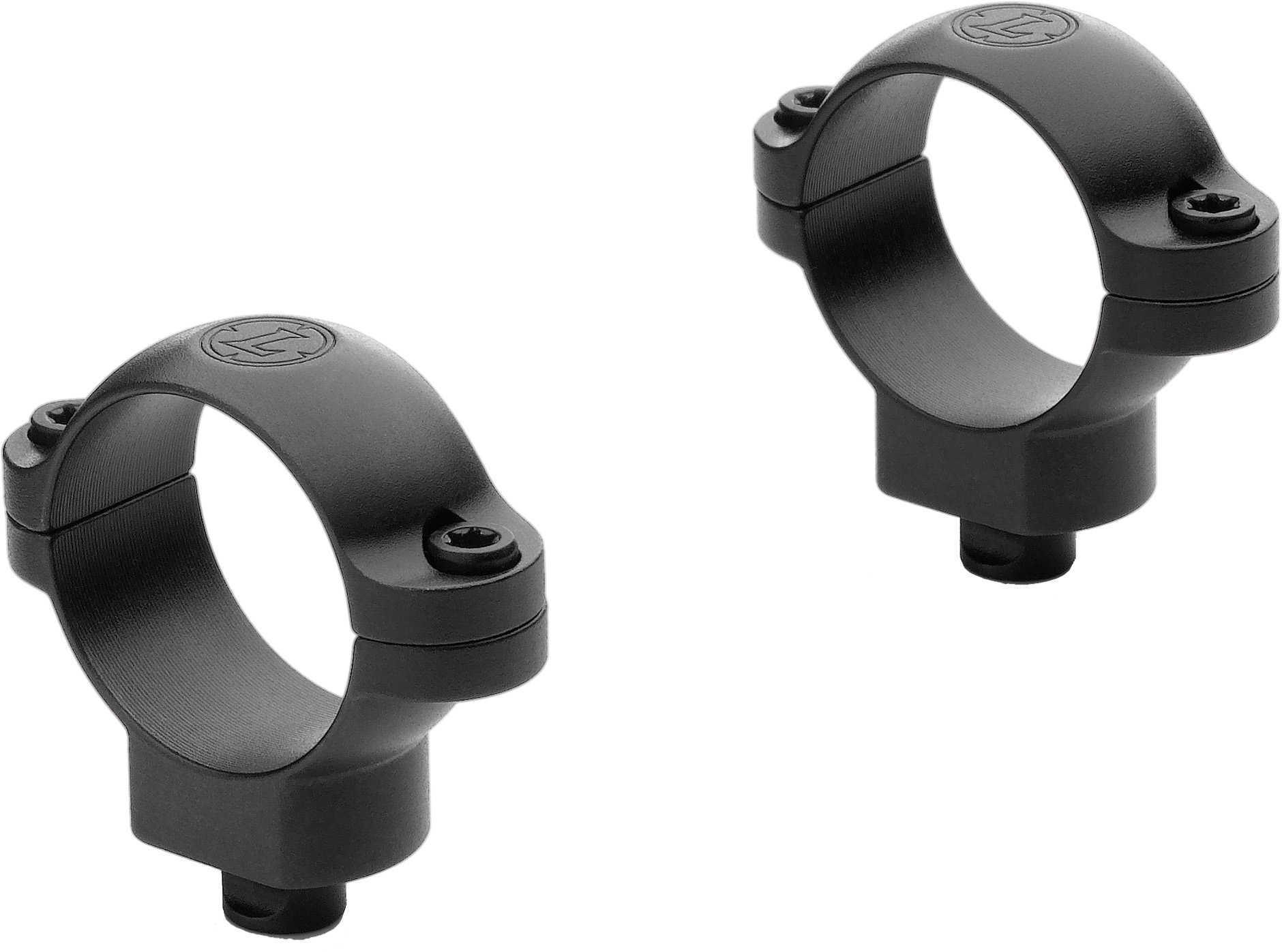 Leupold Quick Release 30mm Rings Medium Black Md: 49930