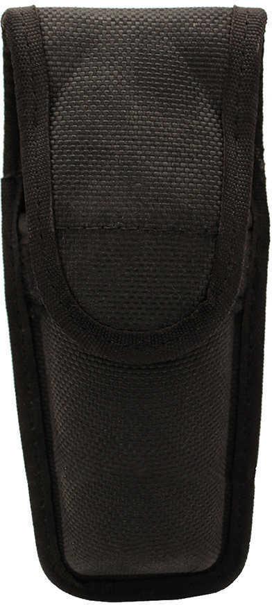 Bianchi 7307 Series AccuMold Mace/Pepper Spray Holder Velcro Closure, Large, Black Md: 17445