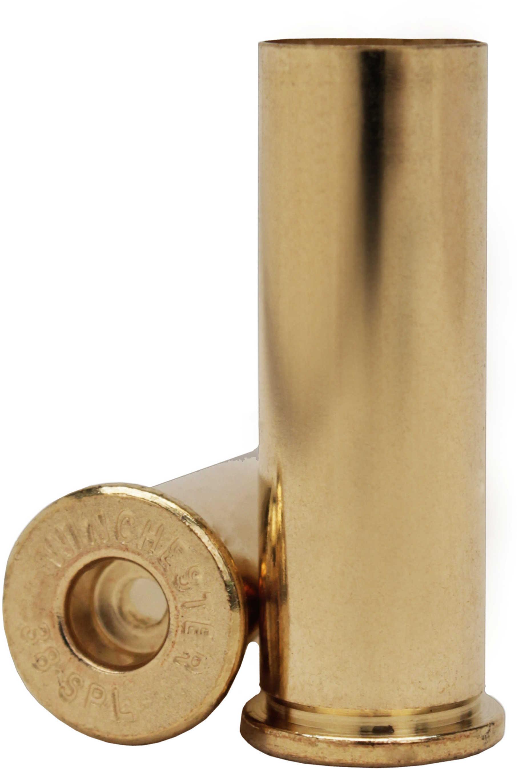 Unprimed Brass 38 Special Per 100 Md: WSC38SU