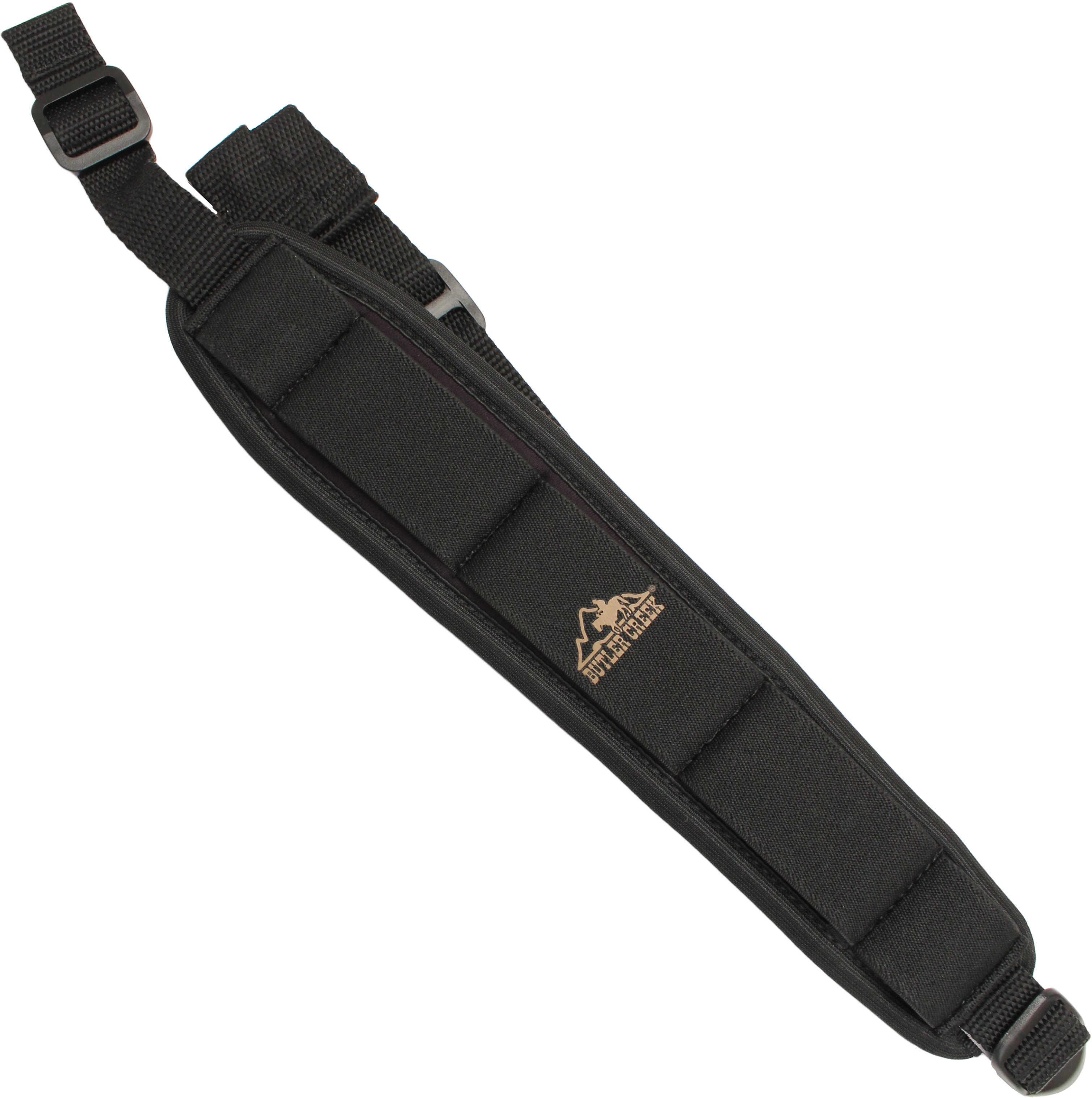 Butler Creek Rifle Sling Comfort Stretch, Black Md: 80013