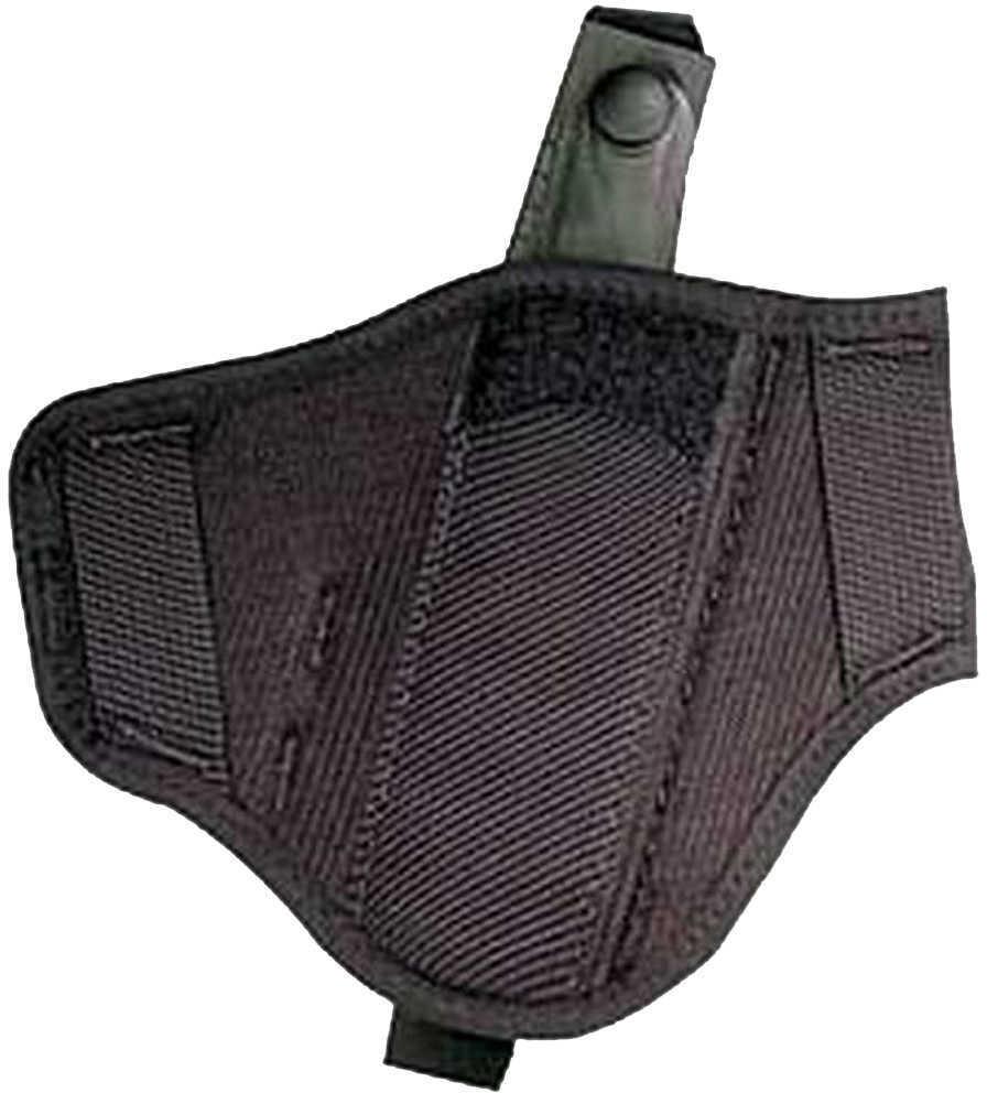 Uncle Mikes Ambidextrous Super Belt Slide Holster Cordura Black Size 30 Md: 86300