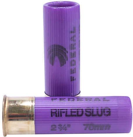 "Federal 16 Gauge Shot shells Game-Shok Rifled Slug 2 3/4"" Max Dram 4/ Ammunition Md: F164Rs"