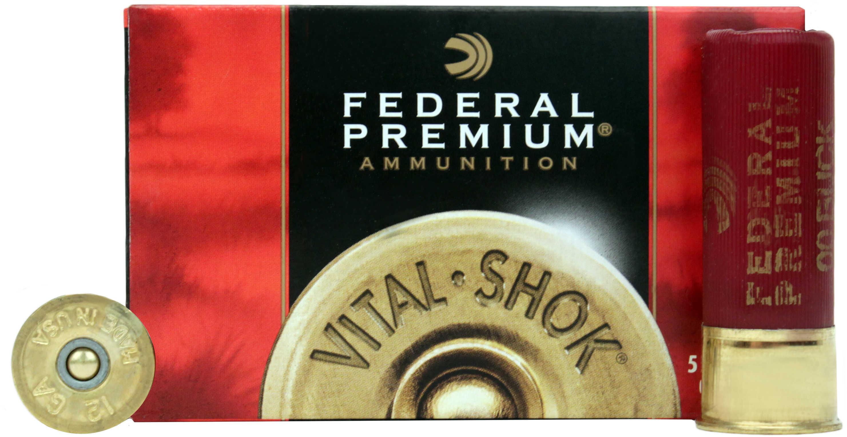 "Federal 12 Gauge Premium Buckshot Loads 2 3/4"" Mag Dram 12 Pellets 00 Buck Ammunition"