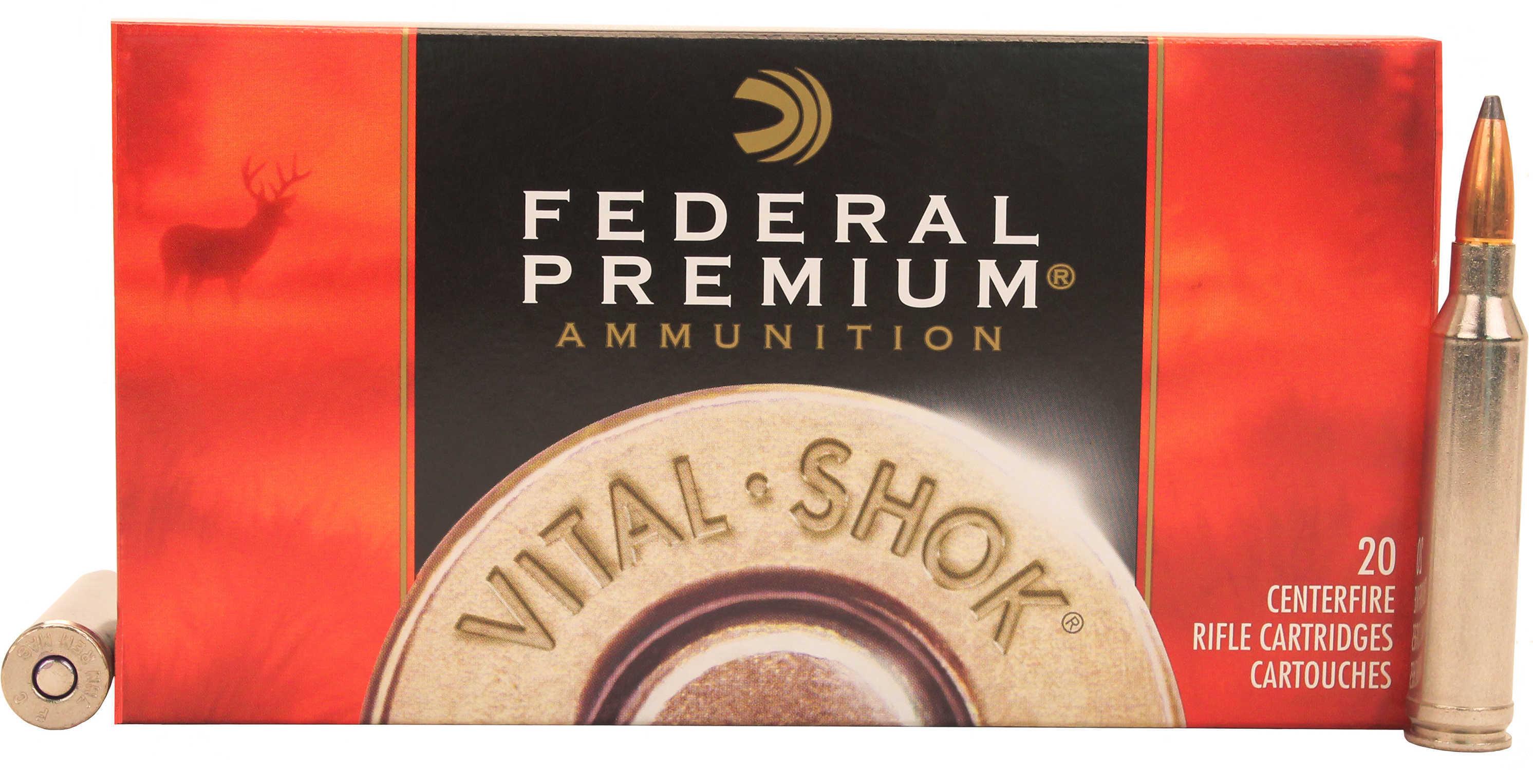 Federal 7mm Remington Magnum 140 Grain Nosler Partition Per 20 Ammunition Md: P7RG