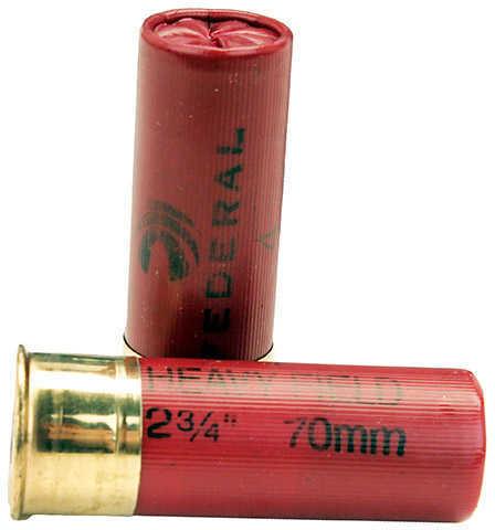 "Federal 12 Gauge Game-Shok Heavy Field Lead Shot shells 2 3/4"" 3 1/4 Dram 1 1/8Oz 4 Shot Ammunition"