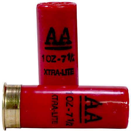 "AA Target Load Winchester 12 Gauge 2 3/4"" Xtra-Lite 1Oz 7.5 Shot Per 25 Ammunition Md: AAL127"