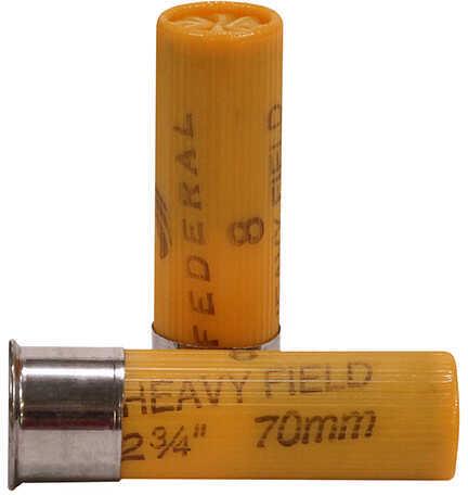 "Federal 20 Gauge Game-Shok Heavy Field Lead Shot shells 2 3/4"" 2 1/2 Dram 1Oz 8 Shot Per"