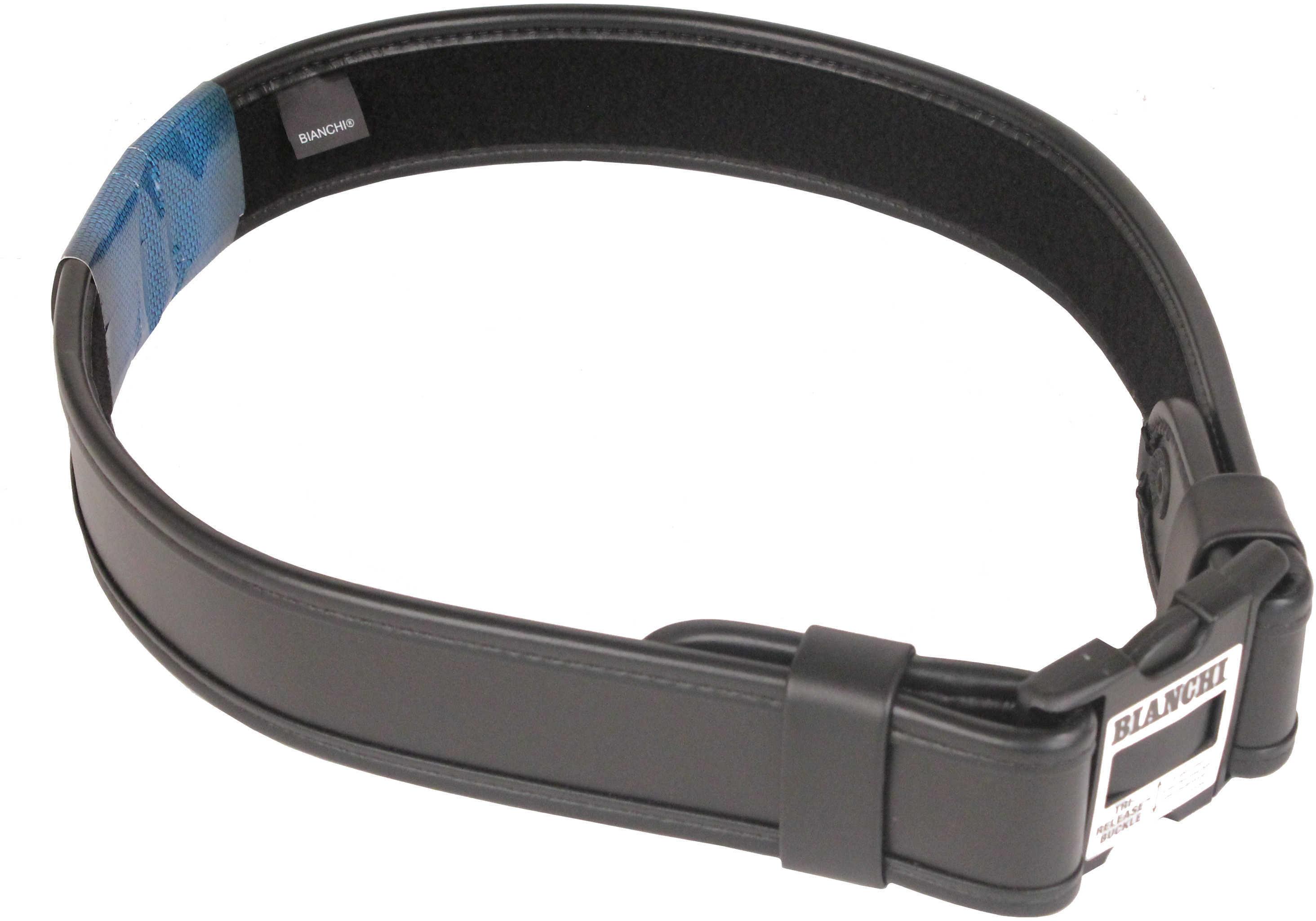 "Bianchi 7950 AccuMold Elite Sam Browne Belt Plain Black, Medium 34""-40"" Md: 22124"