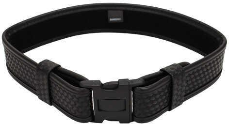"""Bianchi 7950 AccuMold Elite Sam Browne Belt Basket Black, Large 40""""-46"""" Md: 22127"""