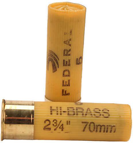 """Federal 20 Gauge Game-Shok Hi-Brass Lead Shot shells 2 3/4"""" 2 3/4 Dram 1Oz 5 Shot Per 25 Ammunition"""